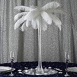 Efavormart 24' Eiffel Tower Wedding Glass Vases for Wedding Party Banquet Events Centerpiece Decoration Flower Vase -6 PCS-Clear