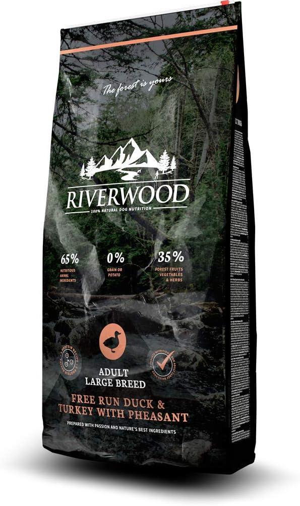 Riverwood – Pienso completo sin cereal para perros adultos de ...