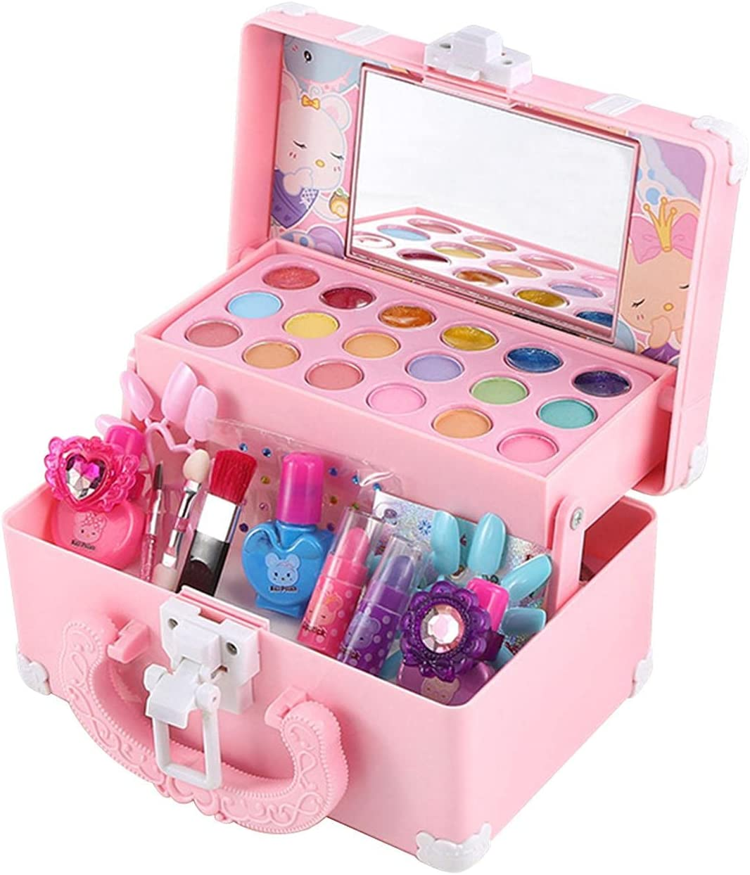 Kids Make it Up Kit Washable for P Girls Makeup Surprise price Max 71% OFF Pretend Toys