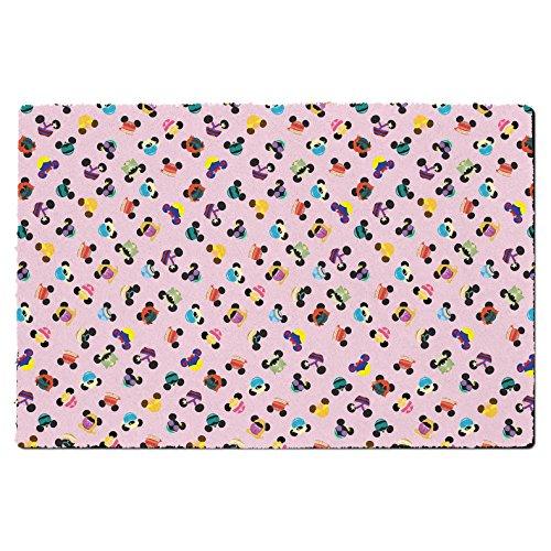 Queen of Cases Disney Princess Mouse Oren Deurmat - Binnen Neopreen Small Door Mat roze