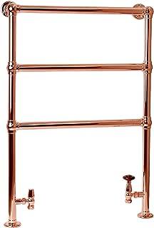 ENKI radiador toallero para baño 970 670 piso de pie oro rosa BALLERINA