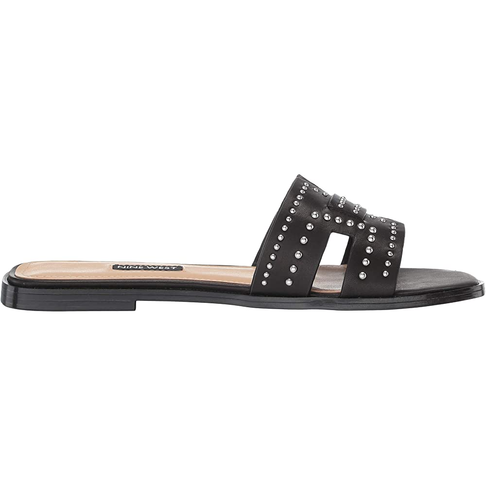 Genesia Studded Slide Sandal
