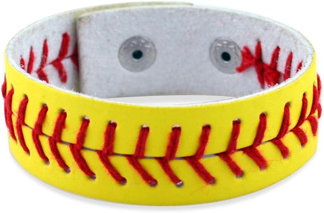 New sales ChalkTalkSPORTS Softball overseas Baseball Jewelry Leathe Authentic
