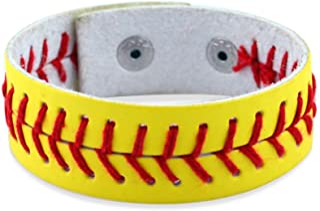 ChalkTalkSPORTS | مجوهرات الكرة اللينة والبيسبول | غرز الكروية الجلدية الأصلية