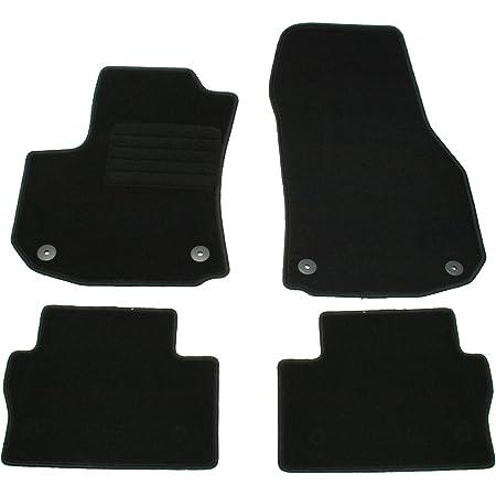 Ad Tuning Gmbh Hg11475v Velours Passform Fußmatten Set Schwarz Auto