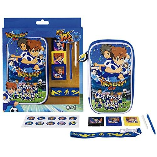 3DS XL PACK DE ACCESORIOS 8 en 1 -INAZUMA ELEVEN GO