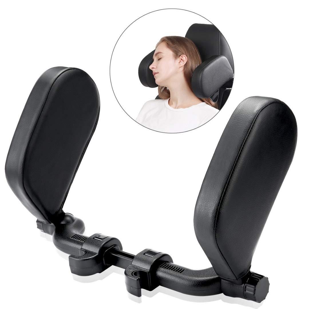 Car Seat Headrest Pillow, Adjustable Road Pal Car Headrest, Sleeping Travel Car Seat Pillow, Travel Car Seat Pillow of Adjustable Both Sides