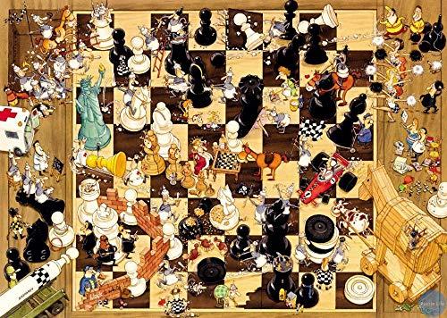 Othello Schaakpuzzel 1000 puzzels voor volwassenen, familiepuzzels, houten puzzels, educatieve spellen, intellectuele uitdagingspuzzels, uitdagingsspellen