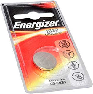 Kenable Energizer Cell Button Battery CR1632 3V 1 Pack