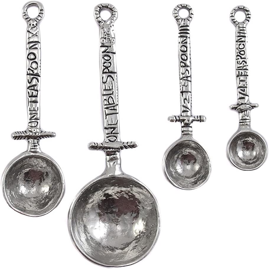 Crosby Taylor Celtic Raleigh Mall Pewter Free shipping on posting reviews Set Measuring Spoon