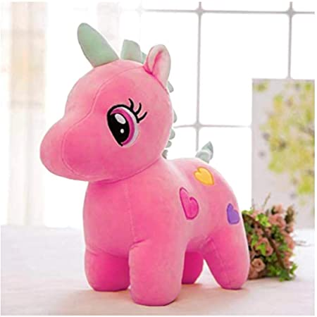 Babique Unicorn Stuffed Soft Toy Plush for Kids Baby Boy Girl Birthday (25Cm- Pink)