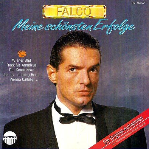 Falcos beste Hits aus den 80er Jahren (CD, 12 Titel) the sound of musik, coming home , maschine brennt , jeanny , vienna calling , it's all over now baby blue u.a.