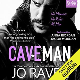 Caveman audiobook cover art