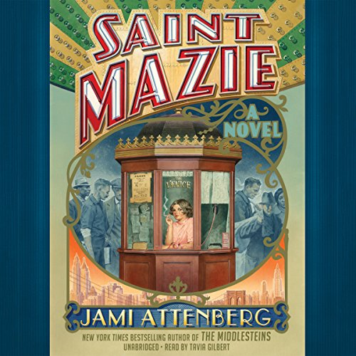 Saint Mazie audiobook cover art