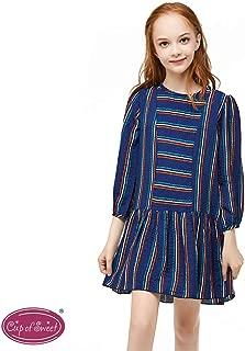 Girls Long Sleeves Strape Dress