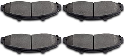 Brake Pads,ECCPP 4pcs Front Ceramic Disc Brake Pads Kits for 1997 1998 1999 2000 2001 2002 2003 Ford F-150,2004 Ford F-150 Heritage,2002 Lincoln Blackwood