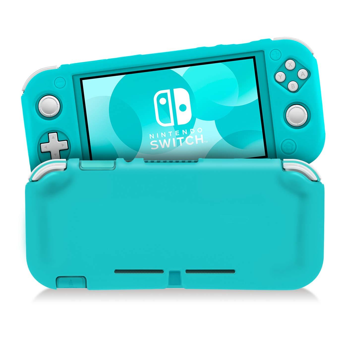 KINGTOP Funda Protectora de Silicona para Nintendo Switch Lite ...