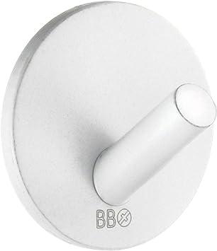 Amazon Com Smedbo Design Single Hook Mini Self Adhesive White 4 Polished Chromes Home Kitchen