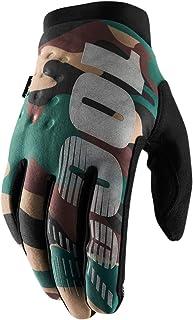 100% Brisker Dots Mens MX Offroad Gloves Camo LG