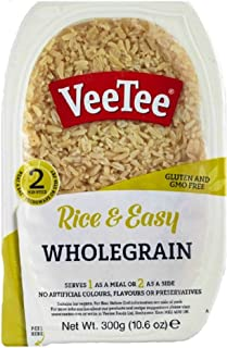 Veetee Dine In Rice - Microwavable Whole Grain Brown Rice - 9.9 oz - Pack of 6