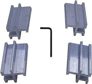 Tonno Pro 42-599 Utility Track Installation Bracket Kit for Tonno Fold or Hard Fold for 07-15 Toyota Tundra or 05-15 Tacoma