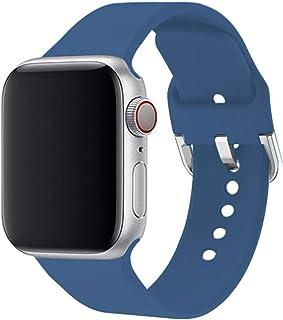 Correa para Apple Watch Band 44mm 40mm para Iwatch Pulsera Serie 5 4 3 2 1 42mm 38mm Accesorios de correa de reloj