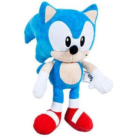 Sonic The Hedgehog - SEGA- Peluche Sonic - Medidas 30 cm - Color Azul