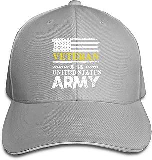 Veteran of United States US Army Adjustable Baseball Cap Casquette Hat Sun Hat