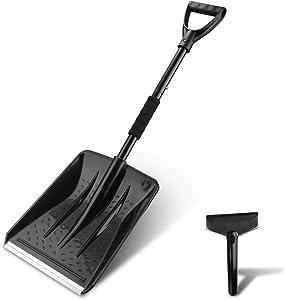 V VONTOX Snow Shovel