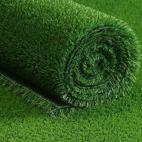 ZIYEYE 20mm Gazon Artificiel Haute Qualité Pas Cher Réaliste Naturel Astro Vert Faux Pelouse Jardin, Balcon Décoration Vert en Plastique Pelouse Jardin De Football Terrain (Size : 2mx1.5m)