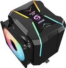 Gegong G400-ARGB CPU Cooler AM4 CPU Cooler 5V Addressable RGB Cooler 2 heatsinks 2 Cooling Fans 4 Heatpipes CPU Air Cooler...