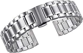 Correas de Reloj de Metal Tipo sólido de Acero Inoxidable