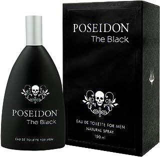 comprar comparacion Poseidon The Black Eau de Toilette para Hombre - 150 ML