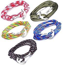 Infinite U Bracelet tressé multi-rangs multicolore