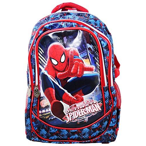 Marvel Spiderman Ultimate Zaino Scuola Grande Tempo Libero