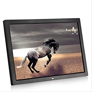 HD Digital Photo Frame, 15 Inches LED Screen Advertising Media Player with A High Definition 1280 * 800 Resolution Support...