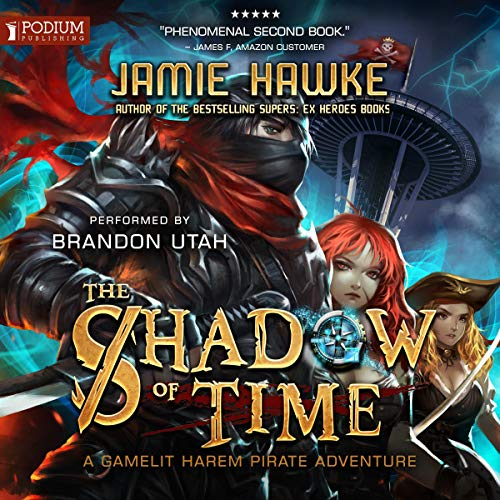 The Shadow of Time                   By:                                                                                                                                 Jamie Hawke                               Narrated by:                                                                                                                                 Brandon Utah                      Length: 6 hrs and 41 mins     23 ratings     Overall 4.6