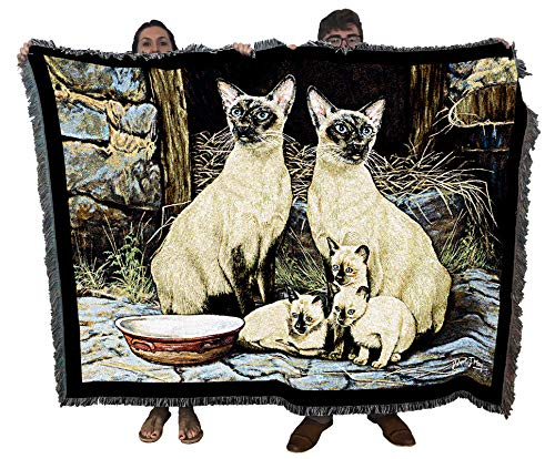 Siamese Family Blanket