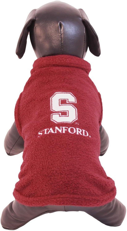 NCAA Stanford Cardinal Polar Fleece Dog Sweatshirt, XXSmall