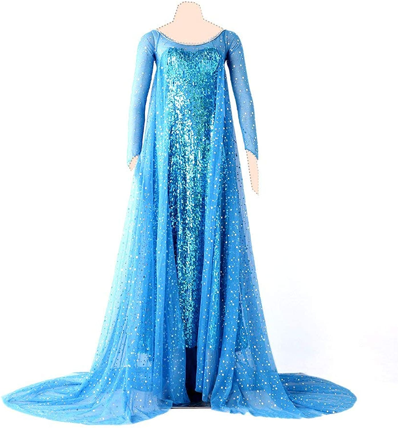 Frozen Cosplay Kostuem ELSA Ver.1 Dress XX-Small