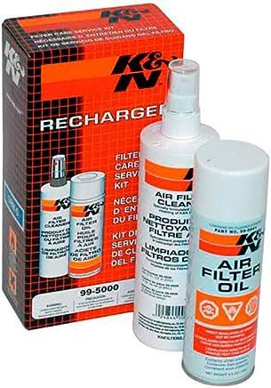 K&N NETTOYANT 355ML + AÉROSOL Huile 204ML pour Filtre À AIR 99-5003EU