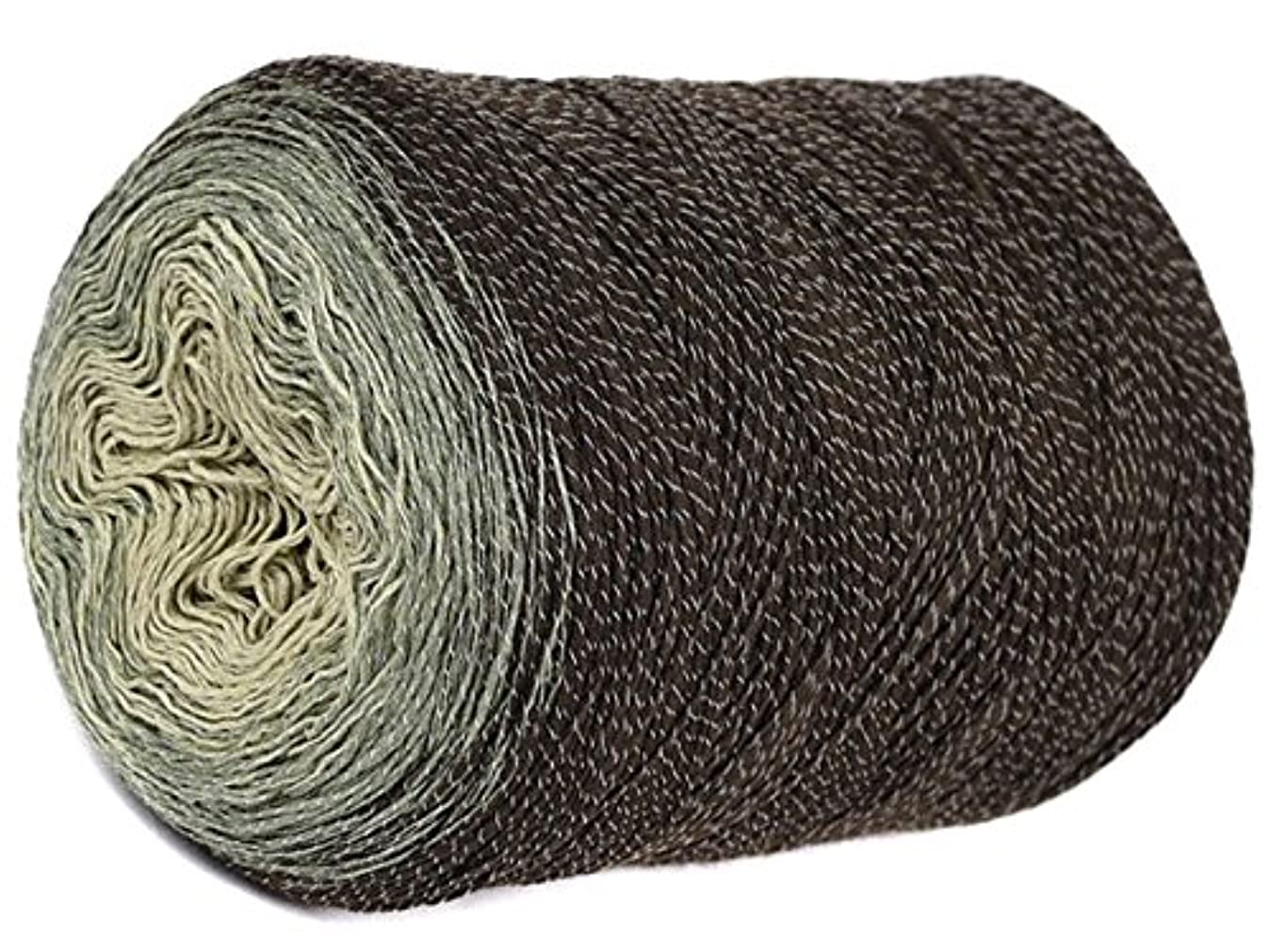 Unique Ombre Yarn – Multicolor - Wonderful Cotton Knitting Roll - for Knitting and Crocheting - 9.88 oz / 984 Yards - 85% Pure Cotton, 15% Polyester (222) f4937808999