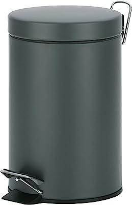 Kela ケラ ペダル式ゴミ箱 サイズ:∅17×H26cm ペダルビン3L ダークグレー 21885