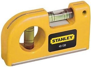 STANLEY 0-42-130 - Nivel de Bolsillo con 2 burbujas