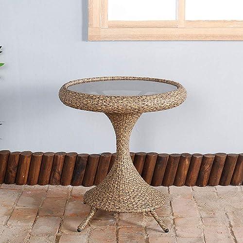 DASENLIN Rattan Stuhl, oben Rattantabelle Stuhl, einen Garten Restaurant, Hotel Balkon, Strandkorb, Rattantabelle