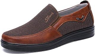Hommes Mocassins Bateau Cuir Conduite Chaussures Ville Casual Penny Loafers Chaussons Pantoufles