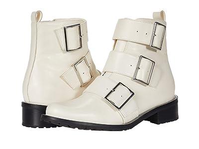 Blondo Vera Waterproof Moto Boot (Bone Leather) Women