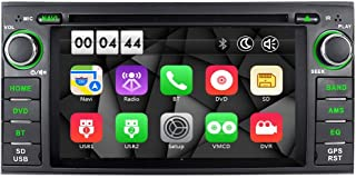 ASURE Car Stereo Bluetooth DVD Player Touchscreen 16G Map Card GPS Navigation Car Radio for Jeep Grand Cherokee