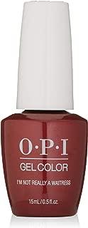 OPI GelColor, Red Color Gel Nail Polish