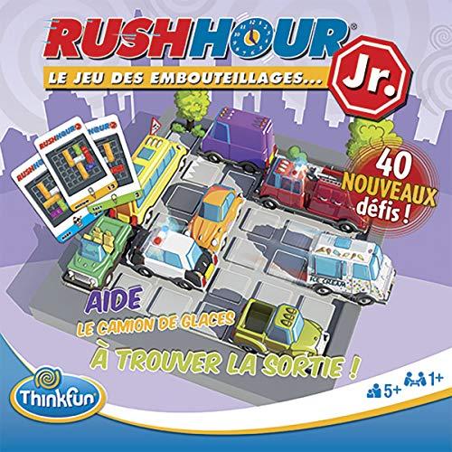 Ravensburger- Rush Hour Junior - Jeu de logique-ThinkFun- A